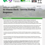 Indonesian NGOs Joint Statement: EU Fitness Check – Interim Finding Responses